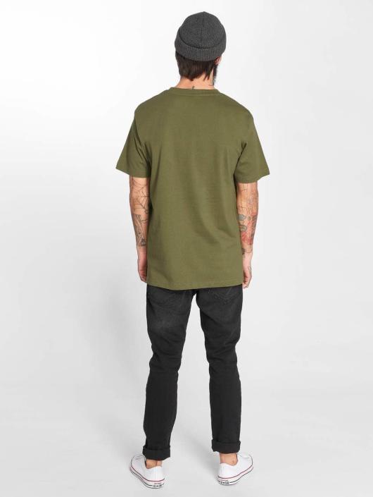 Mister Tee T-skjorter Pray oliven
