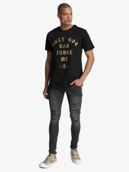 Mister Tee T-skjorter 2Pac Judge svart