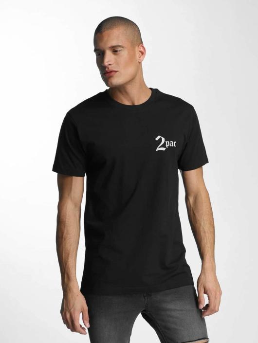 Mister Tee T-skjorter Tupac Makaveli svart