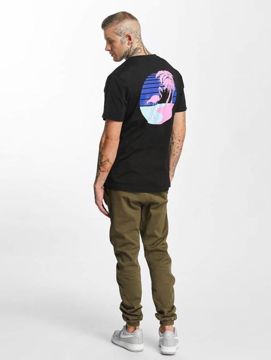 Mister Tee T-skjorter South Beach svart
