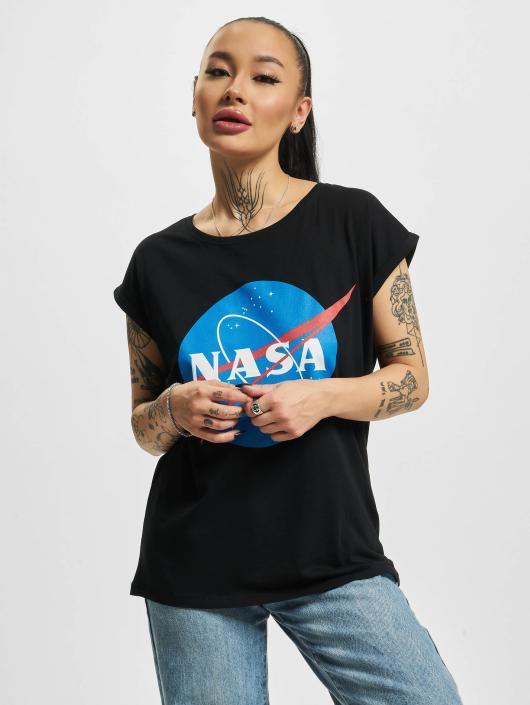 Mister Tee T-skjorter NASA Insignia svart