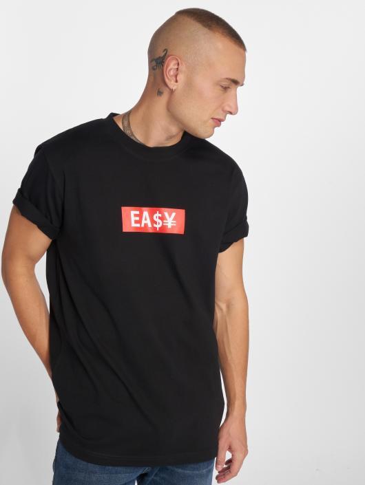 Mister Tee T-skjorter Easy Box svart