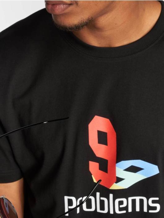 Mister Tee T-skjorter 99 Plys svart
