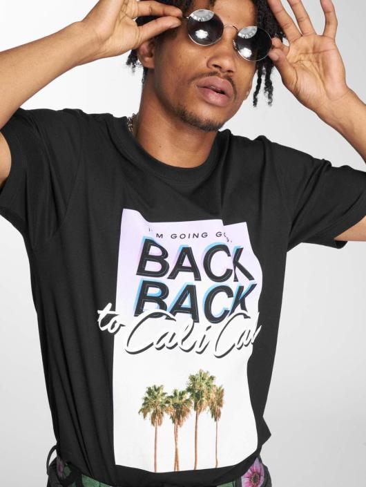 Mister Tee T-skjorter Cali Cali svart