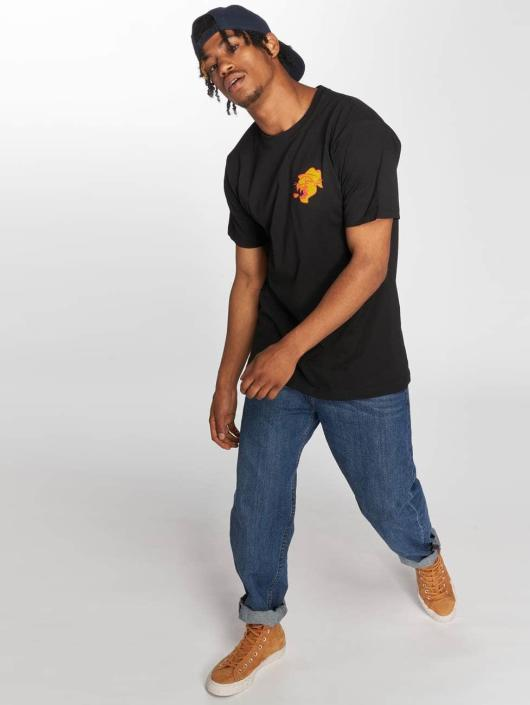 Mister Tee T-skjorter Chinatown svart