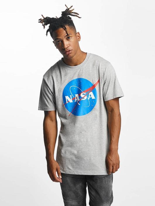 Mister Tee Tričká NASA šedá
