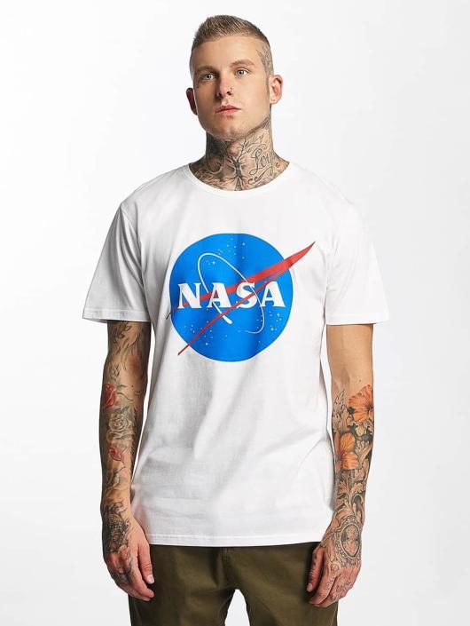 Mister Tee Tričká NASA biela