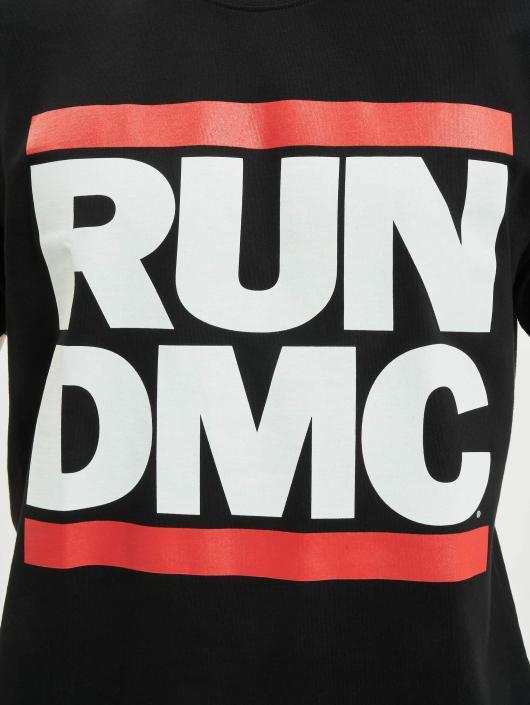 Mister Tee Trika Run DMC Logo čern