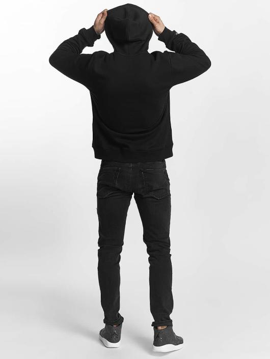 Mitchell & Ness Bluzy z kapturem Red Pop czarny