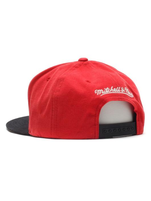 Mitchell & Ness Fitted Cap Sandy czerwony