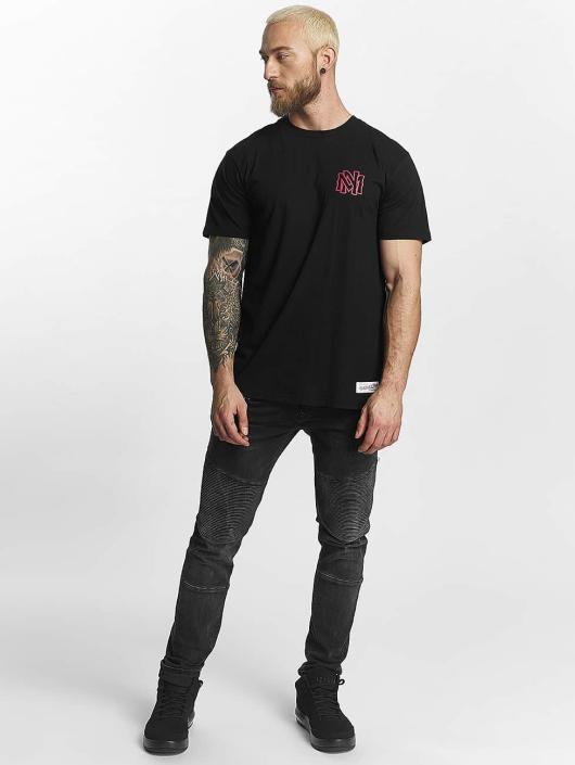 Mitchell & Ness T-Shirt Red Pop Tailored noir