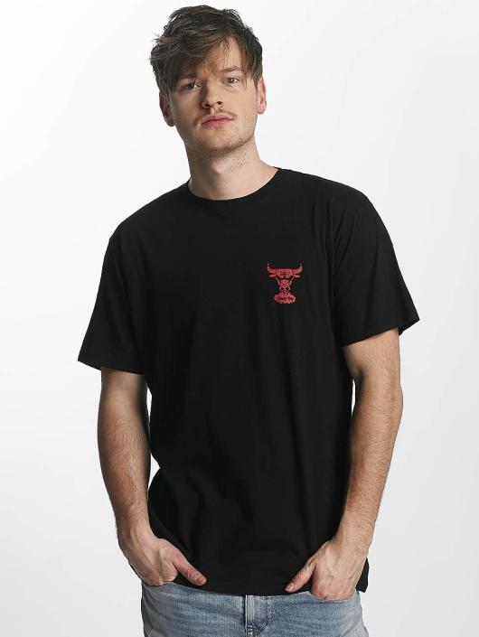 Mitchell & Ness T-Shirt Red Pop Tailored Chicago Bulls noir