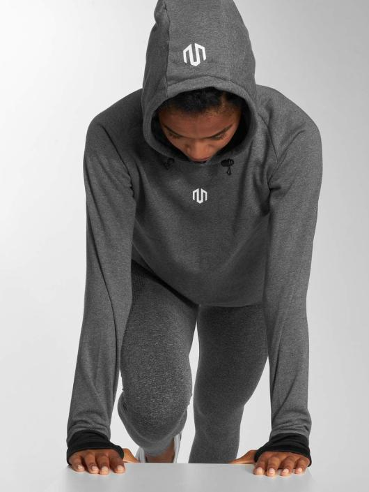 MOROTAI Bluzy z kapturem Comfy Performance szary