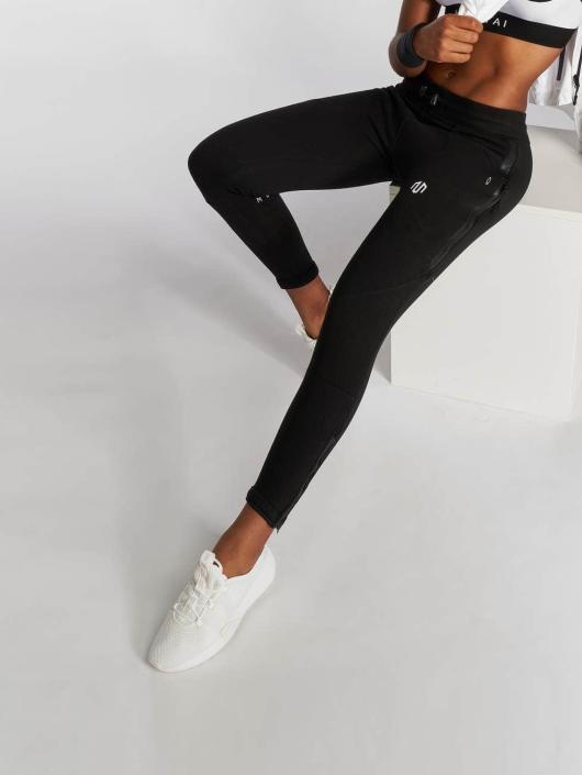 MOROTAI Jogging kalhoty Comfy čern
