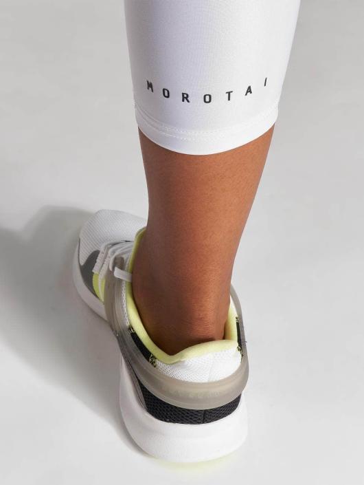 MOROTAI Legging Capri weiß