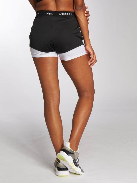 MOROTAI Pantalón cortos 2in1 negro