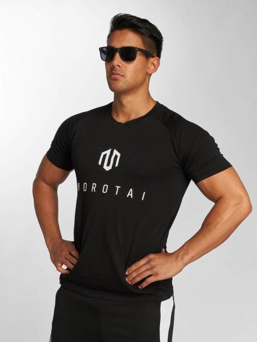 MOROTAI Shirts desportes PREMIUM negro
