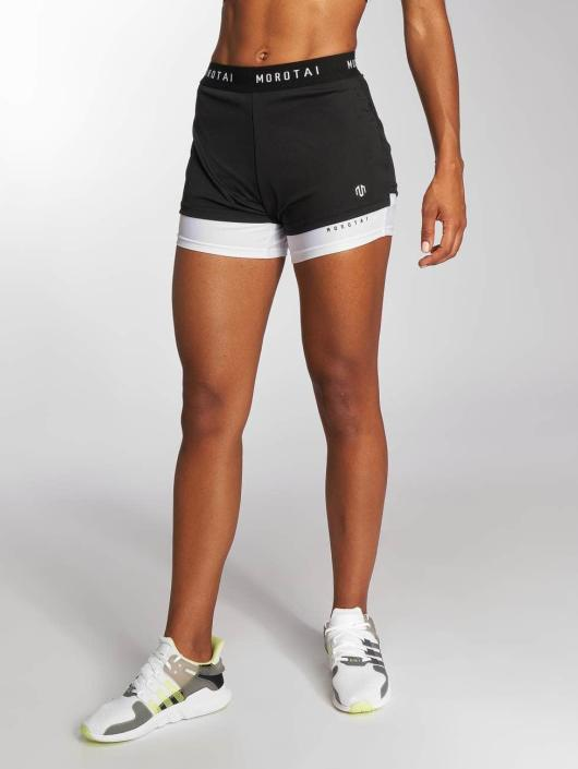 MOROTAI Sport Shorts 2in1 čern