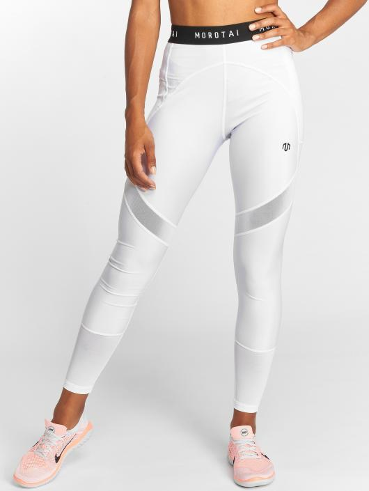 MOROTAI Sport Tights May Mesh white