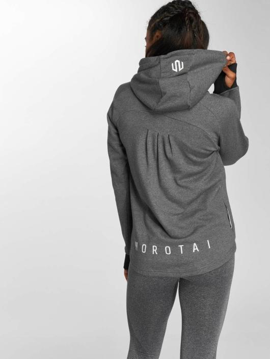 MOROTAI Sweat capuche Comfy Performance gris