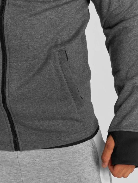MOROTAI Sweat capuche zippé Neotech gris