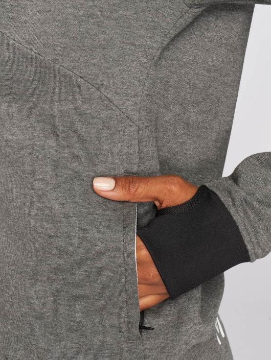 MOROTAI Sweat capuche zippé Comfy gris