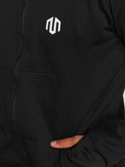 MOROTAI Sweat capuche zippé Neotech noir