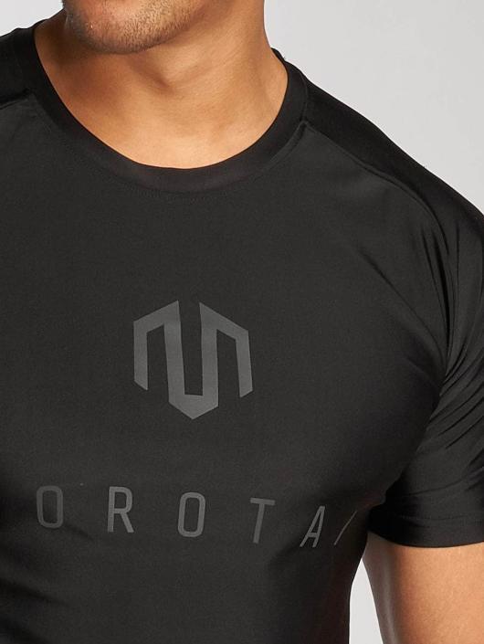 MOROTAI T-Shirty Performance Basic czarny