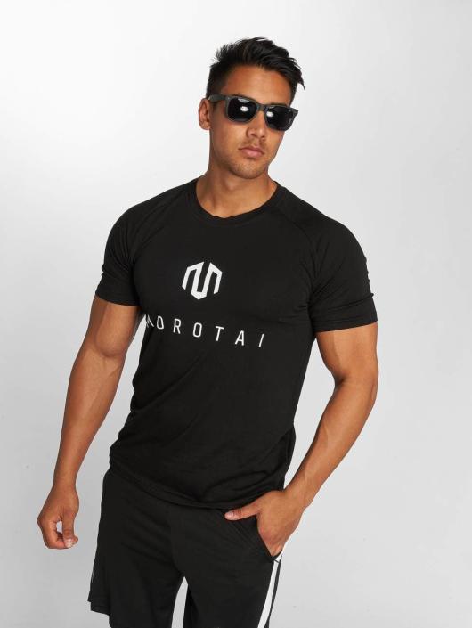 MOROTAI Urheilu T-paidat PREMIUM musta