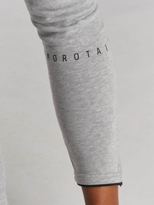 MOROTAI Verkkahousut Comfy harmaa