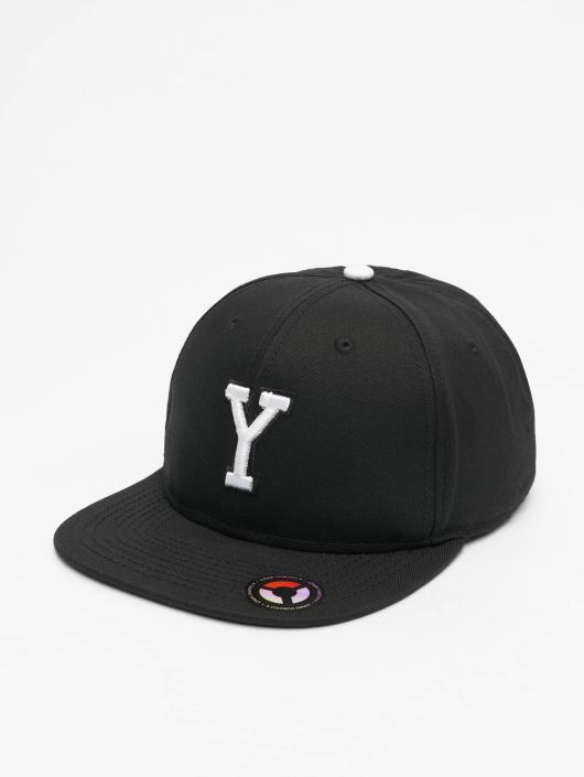 MSTRDS Snapback Caps Y Letter musta