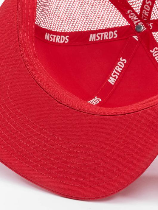MSTRDS Trucker Caps Money Clip red