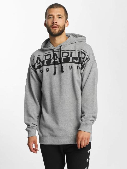 Napapijri Hoodie Badstow gray