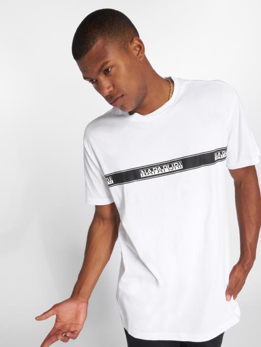 Napapijri T-paidat Sagar valkoinen