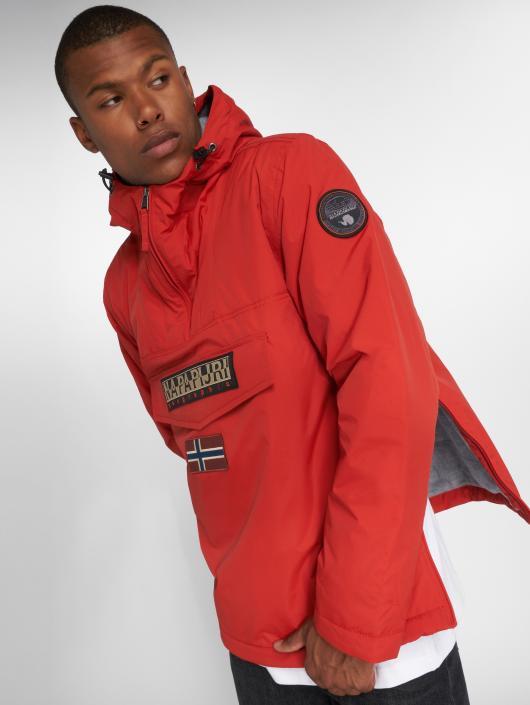 Napapijri Winter Jacket Rainforest red
