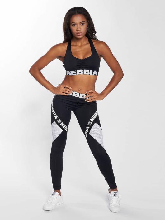Nebbia Спортивный бюстгальтер Elegance черный