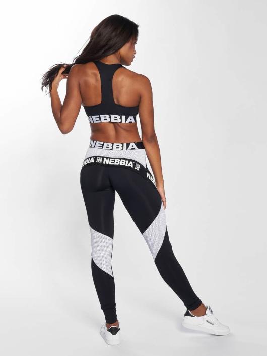 Nebbia Biustonosz sportowy Elegance czarny