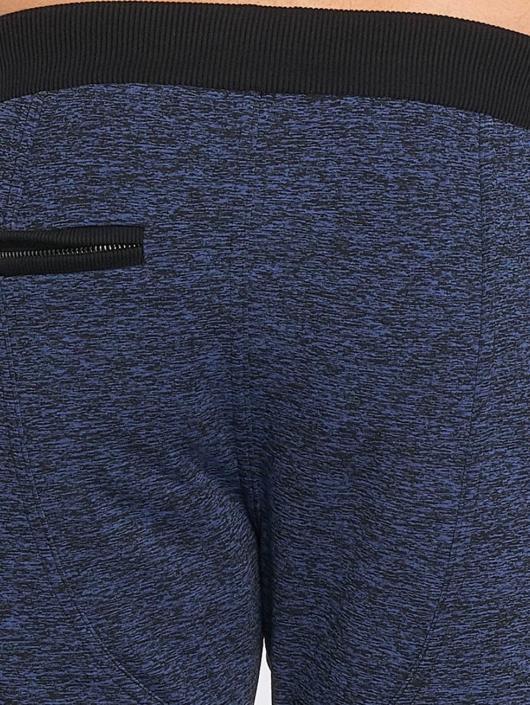 Nebbia Jogginghose Quilted blau