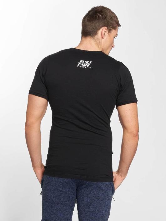 Nebbia Sportshirts Stanka schwarz