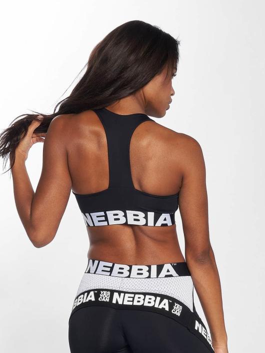 Nebbia Sujetador desportivo Elegance negro