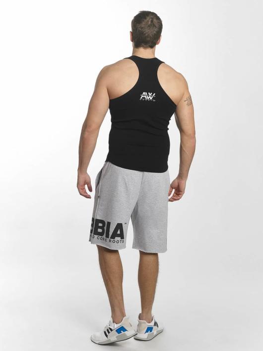 Nebbia Tank Tops Singlet čern