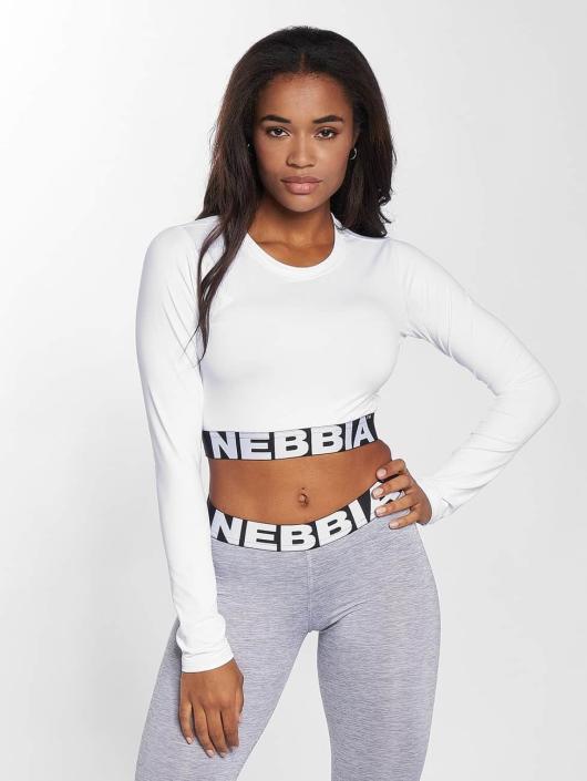 Nebbia Top Crop weiß