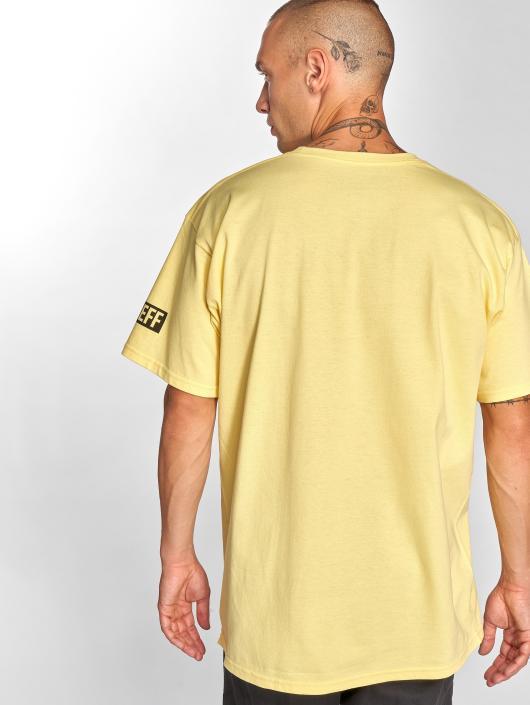 NEFF Camiseta Solo Odds amarillo