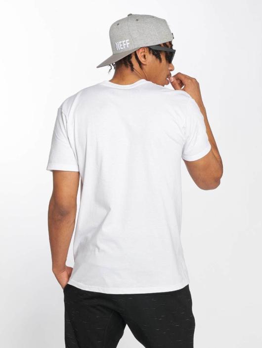 NEFF Camiseta Quad blanco