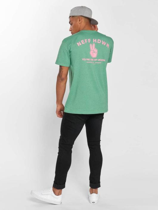 NEFF Camiseta Lock It Up verde