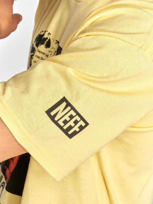 NEFF T-paidat Solo Odds keltainen