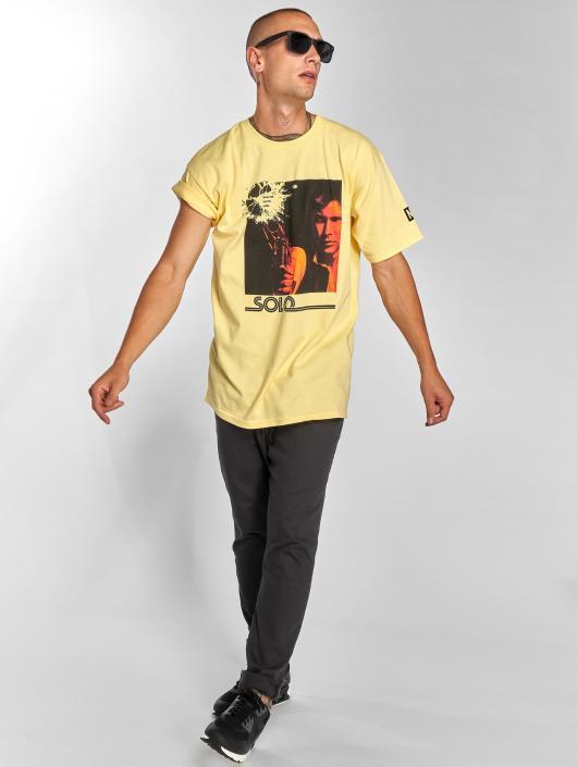 NEFF T-shirt Solo Odds giallo