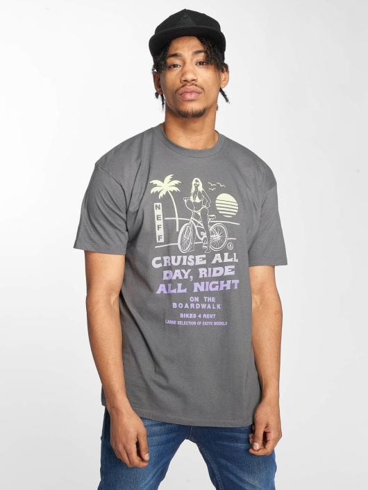 NEFF t-shirt Bike Rental grijs