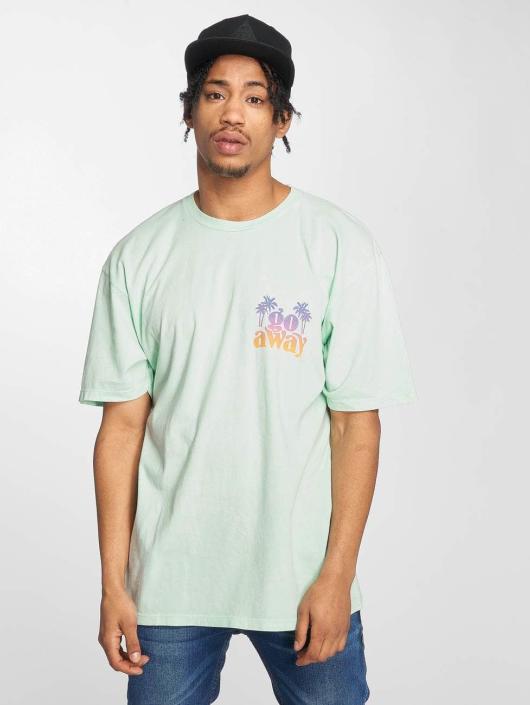 NEFF t-shirt Go Away Wash groen
