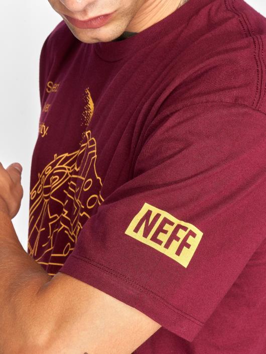 NEFF T-shirt 12 Parsecs röd